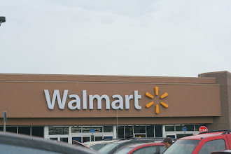 Photo: Even though it was a super rainy day I was very excited to go to Walmart for the #BagItForward program.