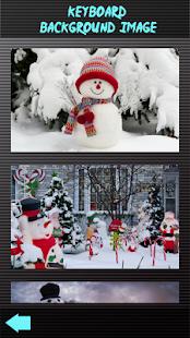 Sladké klávesy pro sněhuláka - náhled