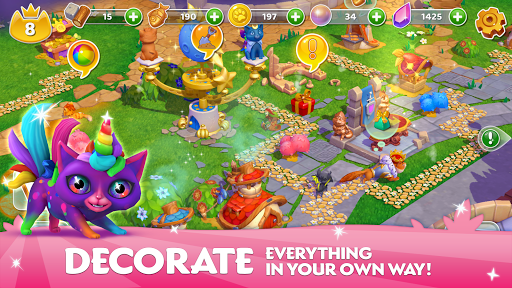 Cats & Magic: Dream Kingdom 1.4.101675 screenshots 4