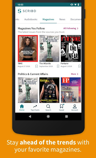 Scribd - Reading Subscription 8.9.1 screenshots 2