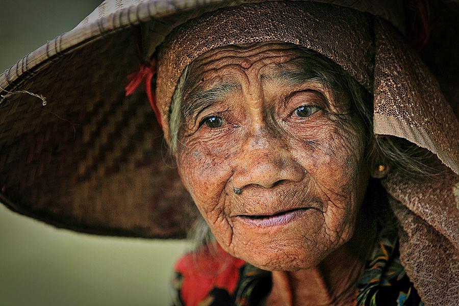 by Kuswarjono Kamal - People Portraits of Women ( senior citizen )
