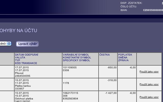 LNC Web rb.cz eKonto