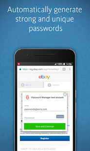 Avira Password Manager- screenshot thumbnail
