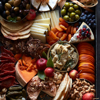 Thanksgiving Cheese Board.