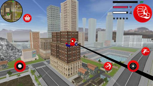 Amazing Spider-StickMan Rope Hero Gangstar Crime filehippodl screenshot 2