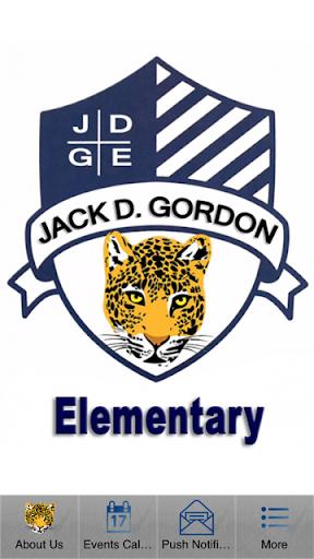 Jack D Gordon ES