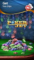 Screenshot of Poker Jet: Texas Holdem
