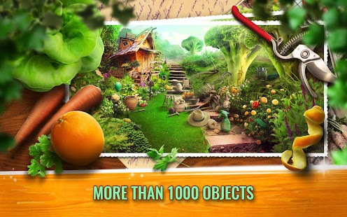 Tajná zahrada skryté objekty - náhled