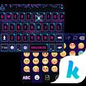 Blue Tech Keyboard Theme icon