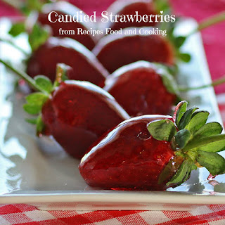 Candied Strawberries.