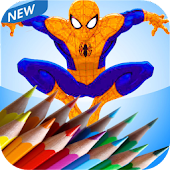 spiderMan Coloring