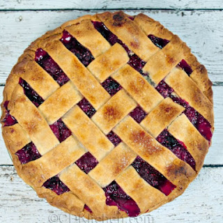 Country Three Berry Pie