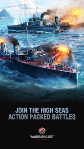 World of Warships Blitz 0.7.3 Apk (Unlimited Money) MOD 2
