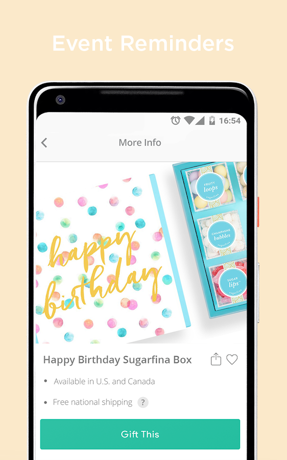 Giftagram: Shopping for Gifts, Birthdays- screenshot