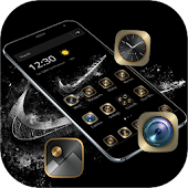 Black Gold Check Mark Theme