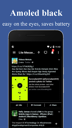Mini Messenger for Facebook 1.0 screenshots 2
