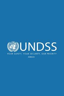 UNDSS Jordan screenshot