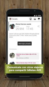 Billetes Tren Mesa AVE Renfe screenshot 3