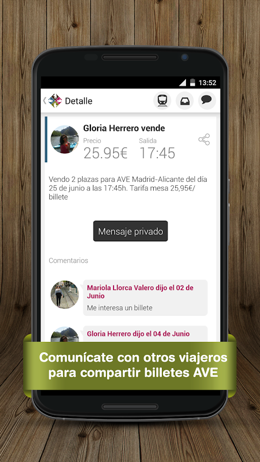 billetes tren mesa ave renfe android apps on google play