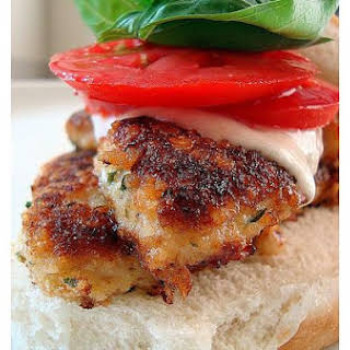 Chicken Caprese Sandwich.