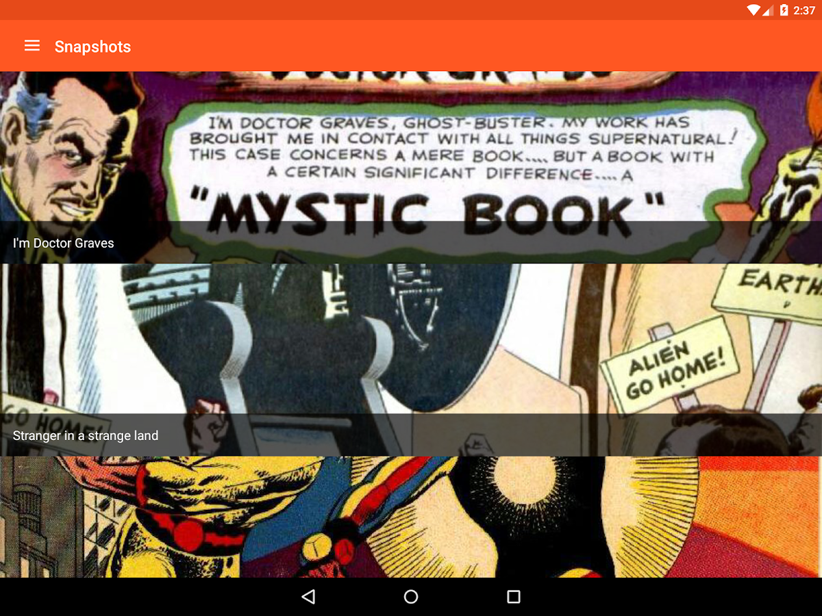 Astonishing Comic Reader- screenshot