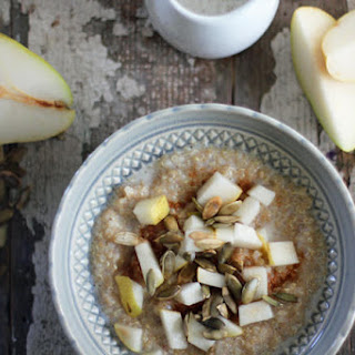 Ancient Grains Pear Porridge.