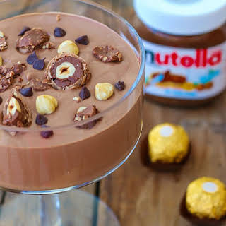 Two Ingredient Nutella Mousse.