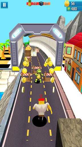 Subway sponge Run Super bob Adventure apkmr screenshots 3
