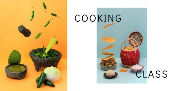 Intermediate Cooking Class - Facebook Event Cover Template