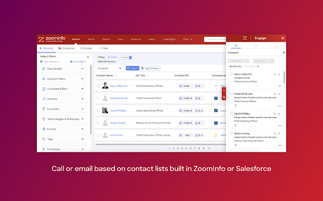 ZoomInfo Engage Chrome Extension