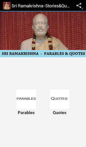 Sri Ramakrishna-Stories Quotes