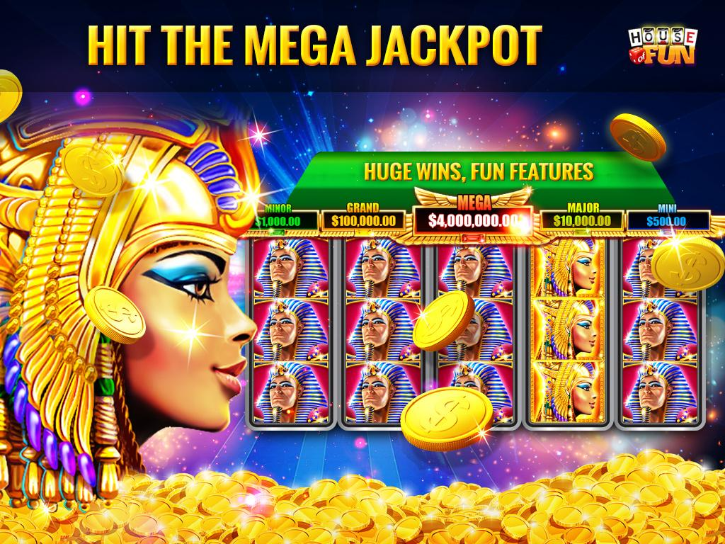 Screenshots of House of Fun-Free Casino Slots for iPhone