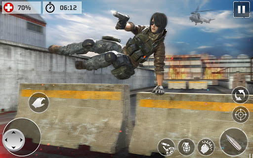 Code Triche Contract Cover Shooter 2020 - Pro Cover Fire Game APK MOD screenshots 2