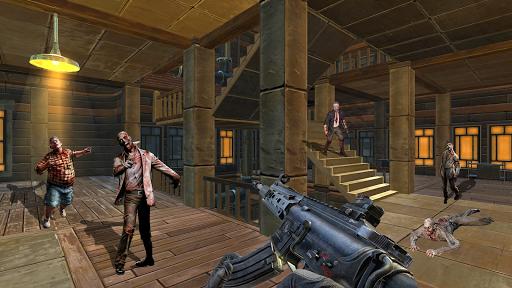zombie hunter 3d: zombie apocalypse zombie jeu  captures d'écran 2