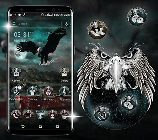 Fantasy Eagle Launcher Theme ss1