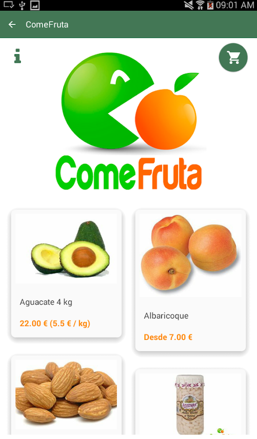 mentta - supermercado online- screenshot