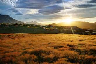 Photo: Just another New Zealand sunset ...from last night  The final evening of the big event was a few hours ago. We went on a wonderful walk through about 70 hectares here in the rolling hills between Queenstown and Arrowtown in an area called Bendemeer Estates. After this, we had an amazing dinner that was catered down at the wool shed by an incredible chef. Thanks again to A Touch of Spice (concierge service) for helping us to set everything up... it's hard to believe we woke up in Milford Sound for sunrise shots and ended up here for sunset... just another day in New Zealand! Thanks again to everyone that came in from all over the world for the event! We'll get more photos and news up onhttp://www.stuckincustoms.com/new-zealand-photo-adventure/ Thanks again to +Karen Hutton +Scott Kublinand +Curtis Simmonsfor making it such a great success! :)  Want the full-rez 7313x4884 version of this shot? Grab it at http://stuckincustoms.smugmug.com/Portfolio-The-Best/your-favorites/10668747_nxsXfB#!i=2359740272&k=6NxwkRt #QueenstownAdventure
