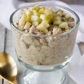 Apple Pie Overnight Oats Recipe