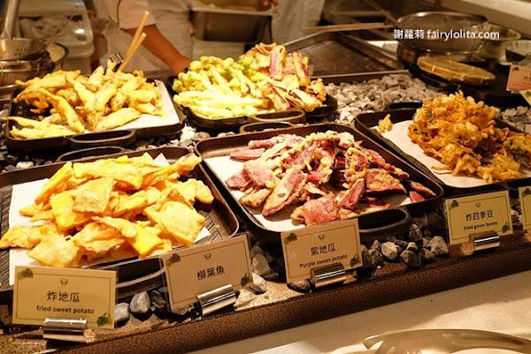 新莊吃到飽 | 天賜良綠大飯店。一千元有找,台北最新buffet超殺現享66折,龍蝦海鮮粥、現煎肋眼牛排、現炸大牡蠣讓你無限吃到飽!