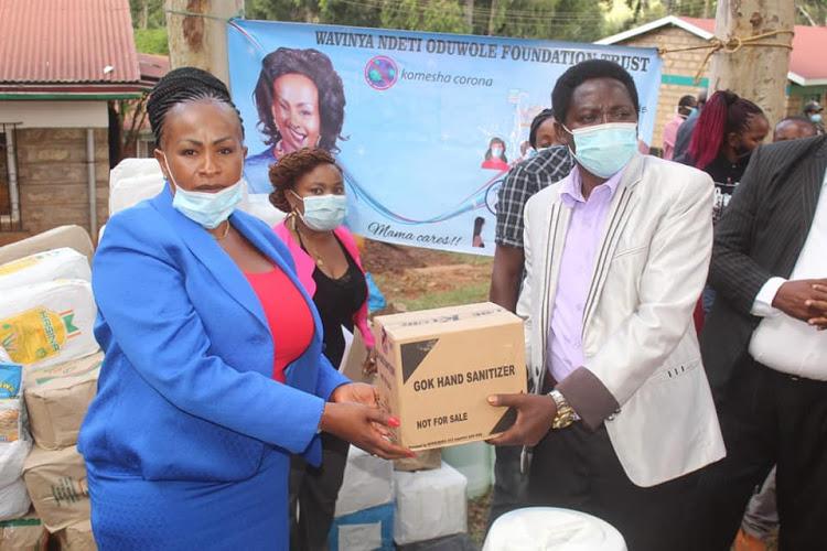 We need relief food in Mavoko, says women's leader
