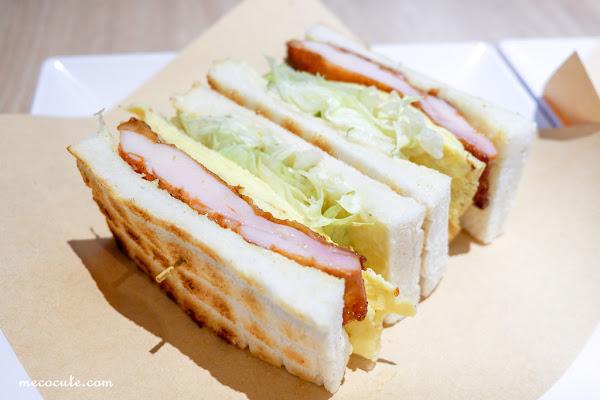 熱胖子格紋三明治