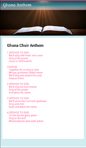 Ghana Methodist Hymn Book