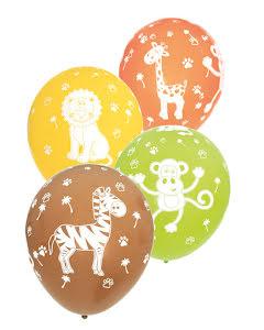 Ballonger, Djungelns djur 6 st