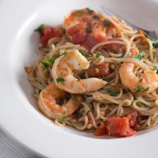 Capellini & Shrimp Fra Diavolo.