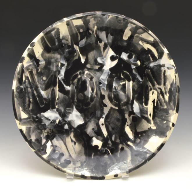 "<p> <strong>Study for Splendide-Hôtel (Moon)</strong><br /> Ceramic plate<br /> 13 ¼"" x 13 ¼""<br /> 2018</p>"
