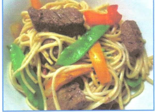 Vegetable Beef Lo Mein Recipe