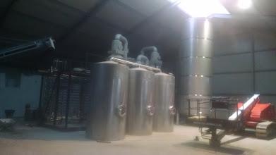 Photo: Huisman Dalfsen in aanbouw ( hygiënisatie en ammoniak strippen)