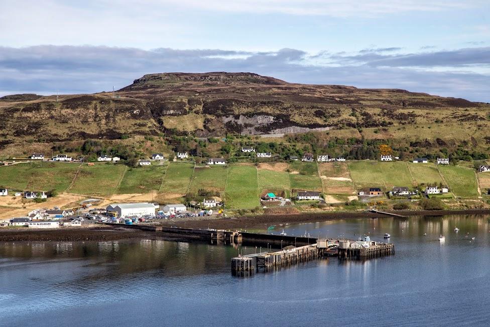 Szkocja, Wyspa Skye, Uig