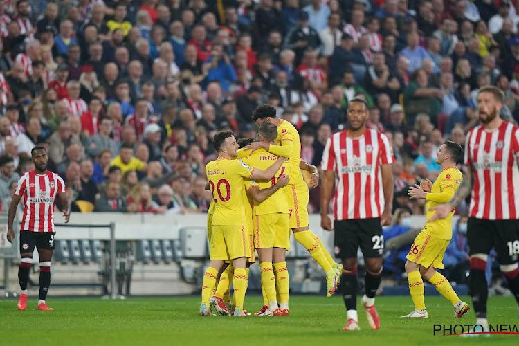 Match de fou pour Liverpool, qui laisse filer des plumes à Brentford