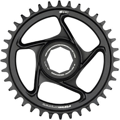 _OLD_Cliff Bar_DNU e*thirteen by The Hive e*spec Aluminum Direct Mount Chainring for Brose S Mag, Black alternate image 2